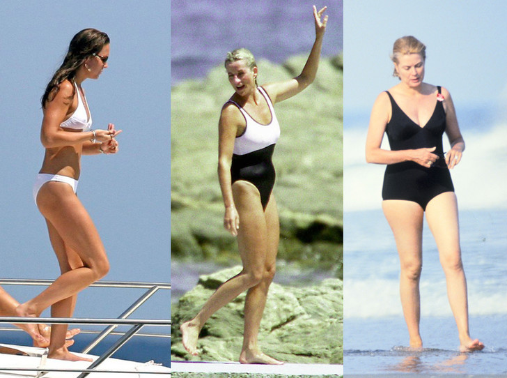 Фото №1 - Королевский пляж: плавки и бикини монарших особ