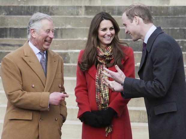 Фото №1 - Семейные узы: как Кейт помогла Уильяму наладить отношения с отцом