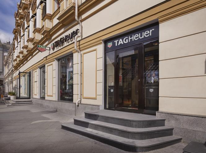 Фото №1 - Открылся новый бутик TAG Heuer