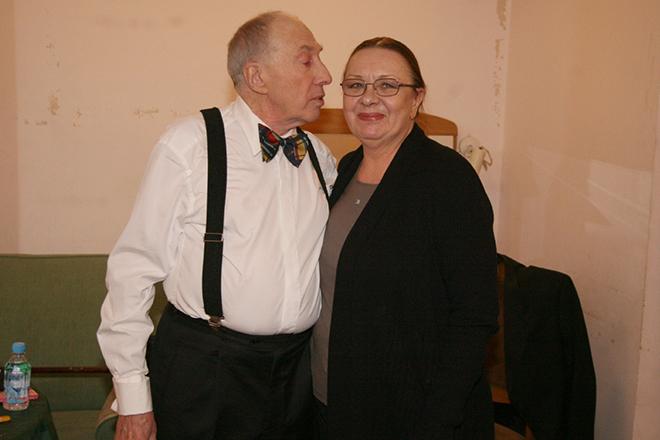 Фото №2 - Сергей Юрский: «Моя жена – та актриса, от которой нельзя отказываться»