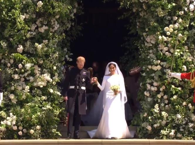 Фото №62 - Свадьба Меган Маркл и принца Гарри: как это было (видео, фото, комментарии)