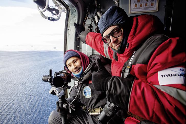 Фото №2 - Замороженное время: путешественник Леонид Круглов среди вечных льдов