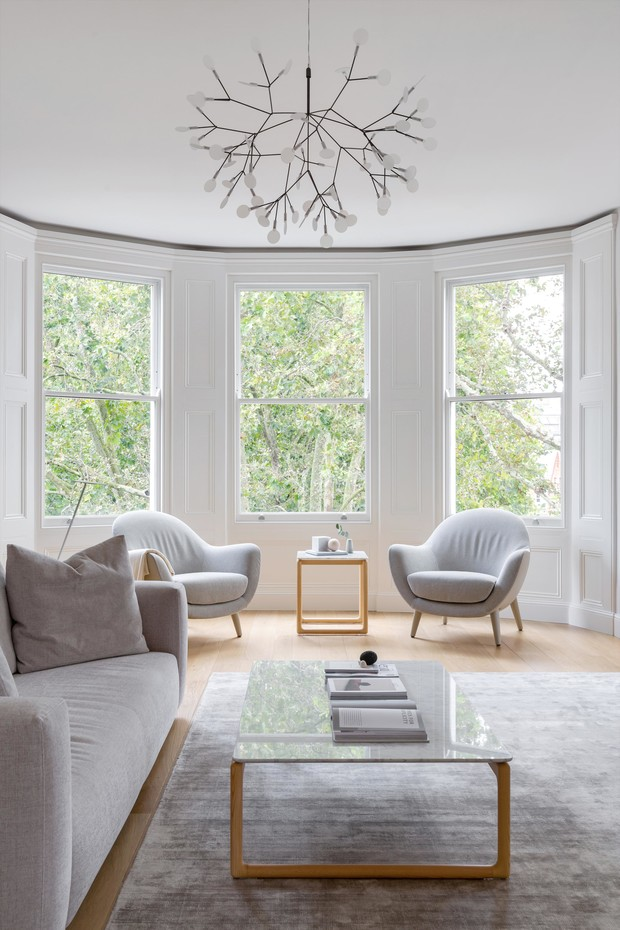 Фото №1 - Светлая скандинавская квартира в Лондоне