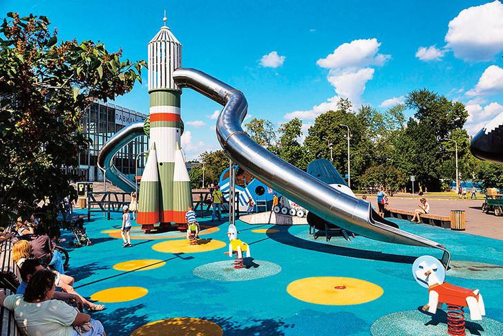 Фото №1 - Досуг с ребенком: 6 главных парков с аттракционами в Москве