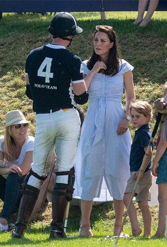 Фото №20 - Семейный выходной: принцесса Шарлотта, принц Джордж, Кейт и Уильям на игре в поло