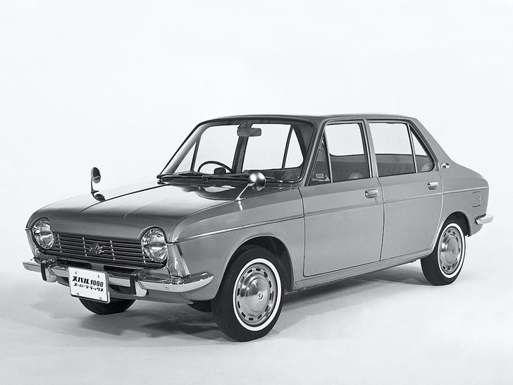 Фото №4 - На шесть звезд: интересные факты из истории Subaru