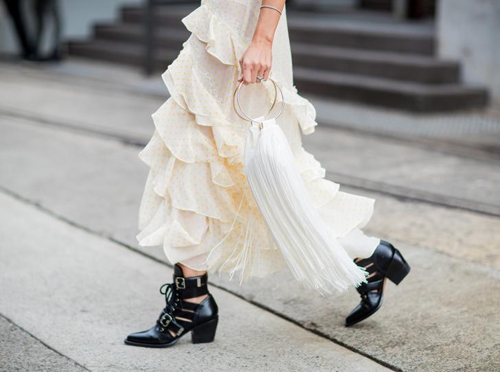 Фото №1 - Резкие и дерзкие: как носить грубые ботинки в разных стилях