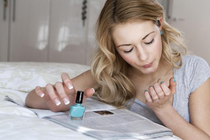 как раскрасить ногти