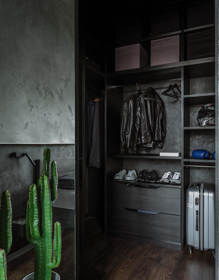 Фото №10 - Брутальная квартира 43 м² для любителя острых ощущений