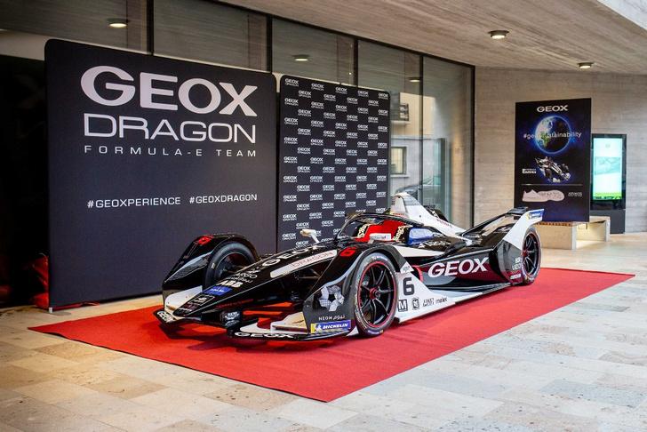 Фото №1 - Команда Geox Dragon представила новый болид Penske EV-4 на 6-й сезон Formula E
