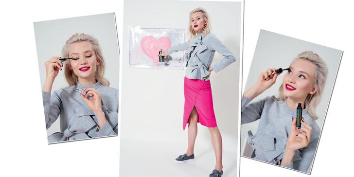 Фото №1 - Как быть стильной бунтаркой на учебе: 4 образа от блогера Леры Долговой