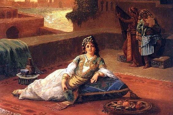Фото №2 - Лепестки роз, карамель и басма: как ухаживали за собой любимые женщины турецких султанов