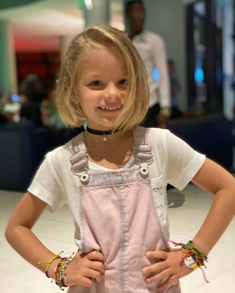 Одна из самых знаменитых Алис страны— Алиса Юнусова, дочка Тимати и Алены Шишковой.