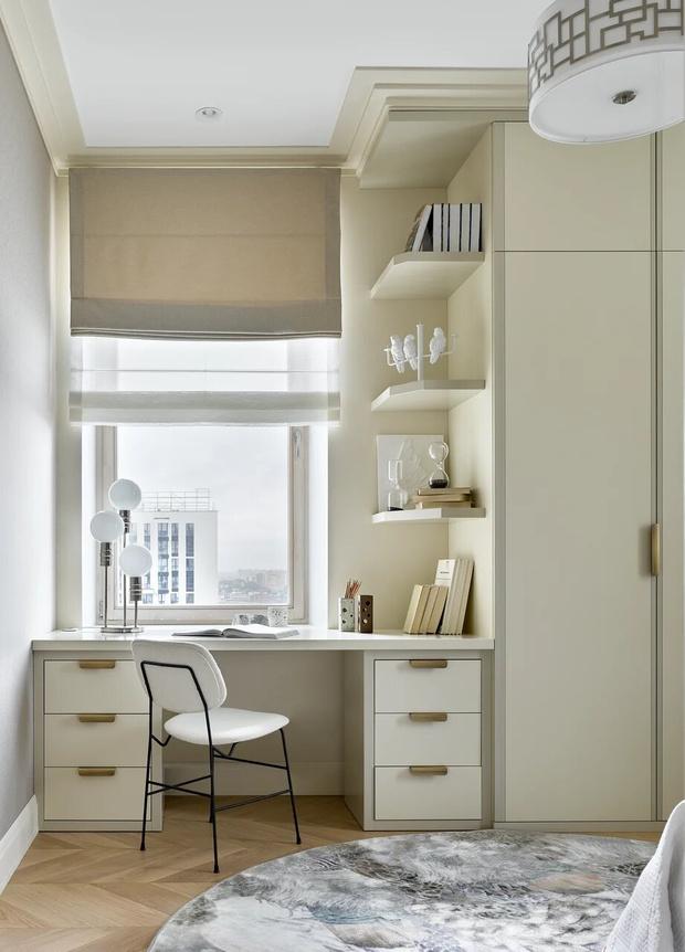 Фото №15 - Элегантный монохромный интерьер квартиры 85 м²