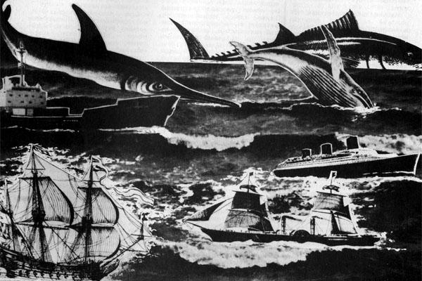 Фото №1 - XX век: корабли уходят под воду