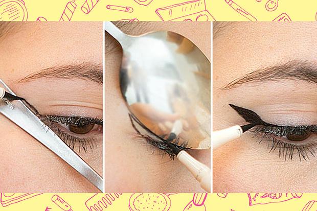 Фото №2 - Beauty Hack: Как нарисовать ровные стрелки