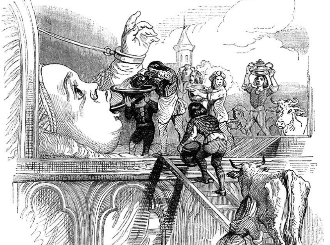 Фото №5 - Франсуа Рабле - человек и комикс эпохи Возрождения