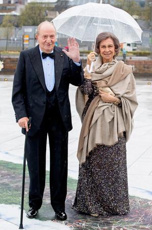 Фото №36 - Забавы королевского двора: самые интересные моменты юбилея Харальда и Сони