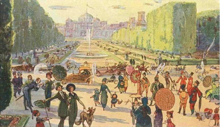 Фото №6 - Как представляли Москву будущего в 1914 году