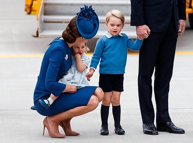 Фото №1 - Принц Джордж проигнорировал канадского Премьера