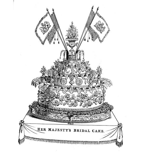 Фото №2 - Сладко: свадебные торты на королевских свадьбах