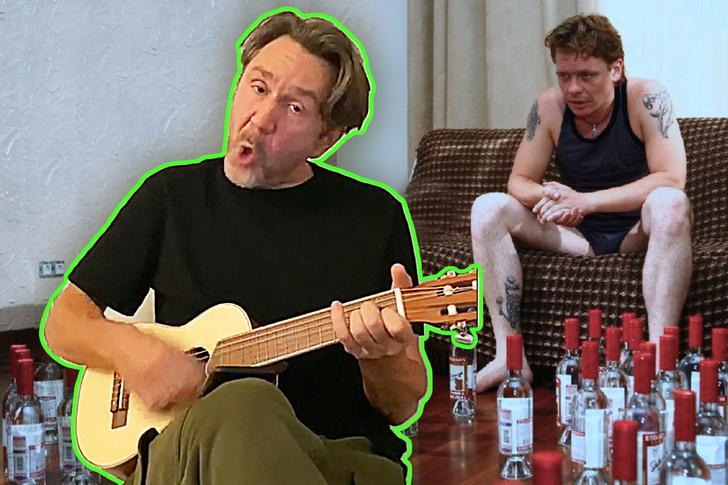 Фото №1 - Шнуров песней поддержал россиян, пьющих в самоизоляции
