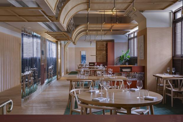 Фото №1 - Ресторан Whey в Гонконге по проекту Snøhetta