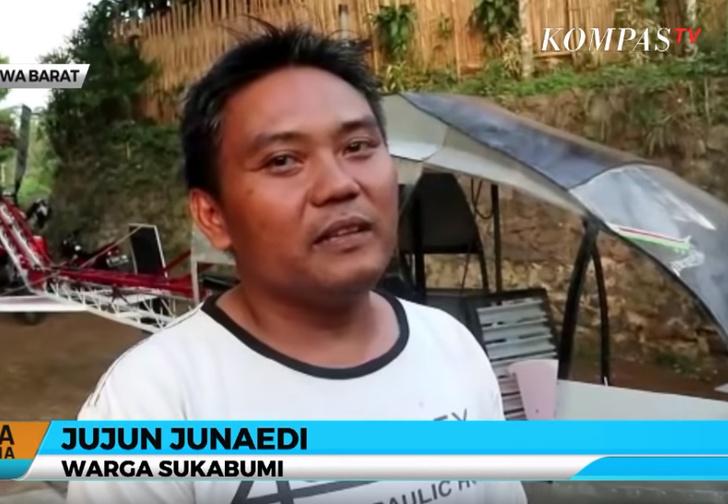 Фото №2 - Мужику из Индонезии так надоели пробки, что он с нуля построил себе вертолет (видео)