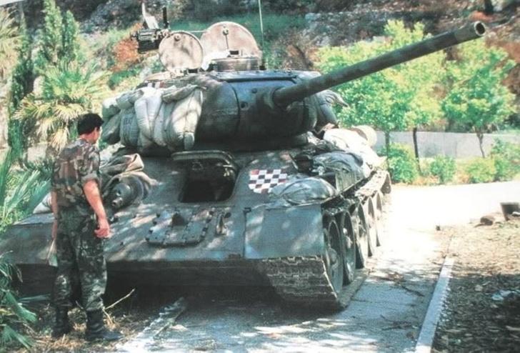 Фото №13 - Трофей из России— легендарный Т-34 на службе вдали от дома