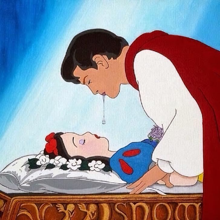 Фото №1 - В США обеспокоились сюжетом «Белоснежки»: ведь ей 14 лет, а принцу— 31