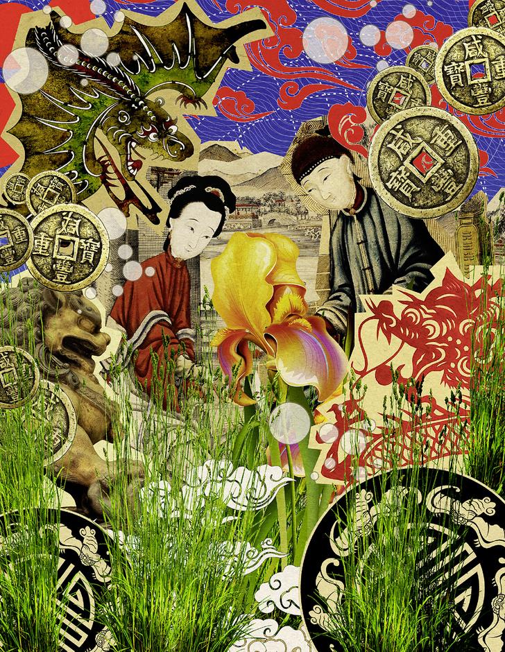Фото №2 - Мифы народов мира: Трава-шерсть, маньчжурская легенда