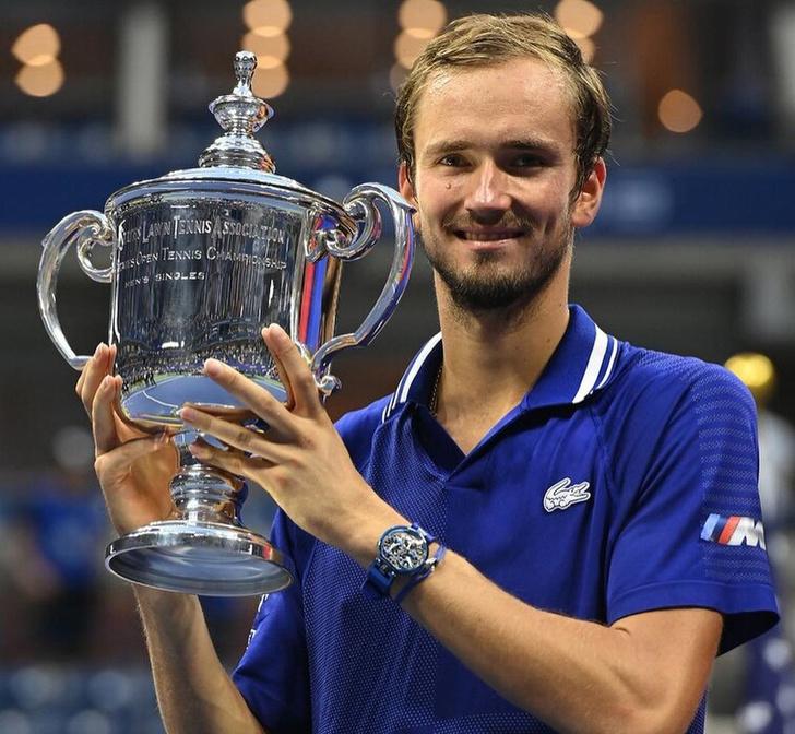 Фото №1 - Российский теннисист Даниил Медведев оставил первую ракетку мира без «Большого шлема»