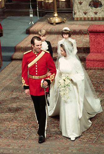 Фото №12 - Первая свадьба принцессы Анны: как выходила замуж дочь Елизаветы II
