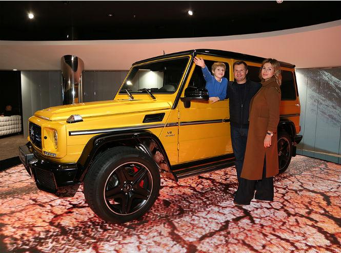 Фото №5 - Открытие нового шоурума Mercedes-Benz