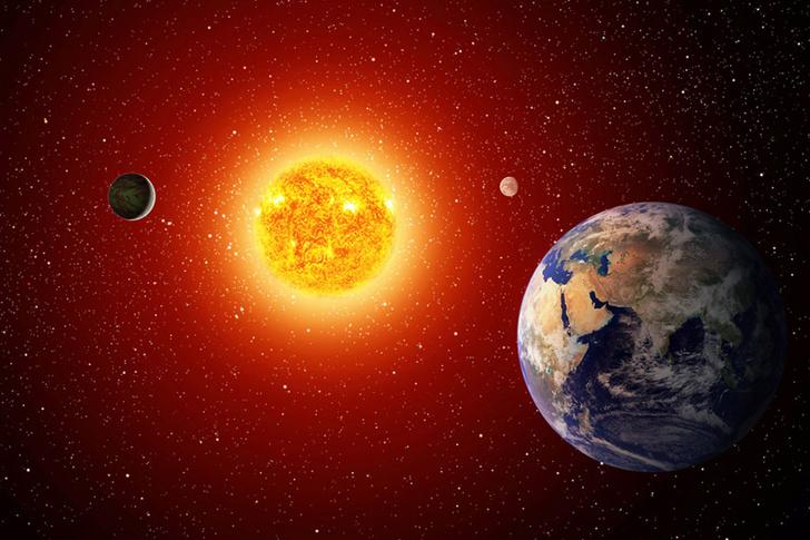 Фото №1 - Как взвешивают планеты?