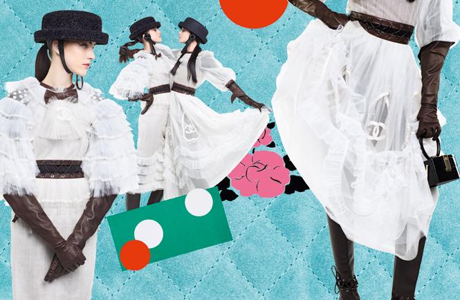 Фото №9 - Коллажи Карла Лагерфельда: креативная кампания Chanel FW 16/17