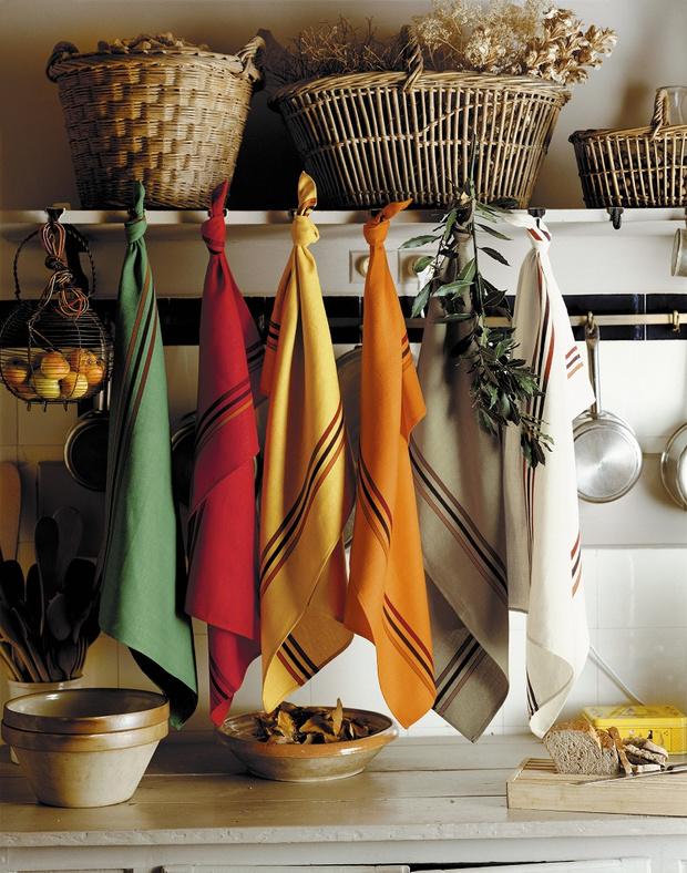 Фото №6 - Модные фартуки и текстиль для кухни