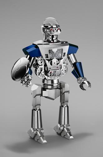 Фото №2 - Настольные часы Balthazar: робот, предсказывающий ваше настроение