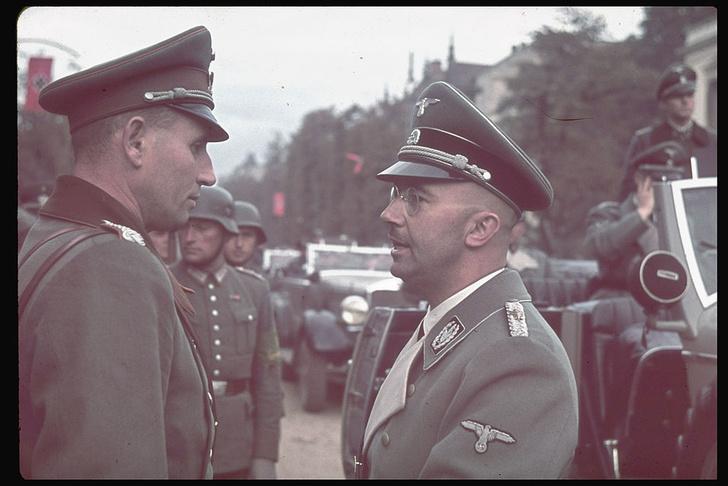 Фото №1 - В подольском военном архиве обнаружены дневники Гиммлера