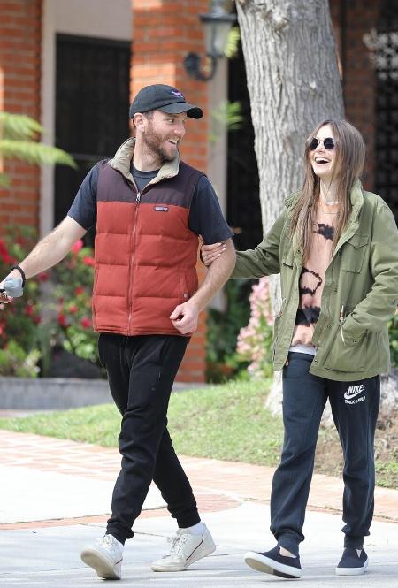 Лили Коллинз и Чарли МакДауэлл в Лос-Анджелесе