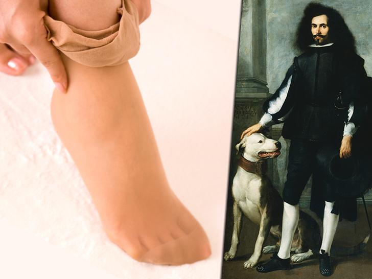 Фото №1 - Кроп-топ, прокладки, чулки: как созданные для мужчин вещи стали носить только женщины
