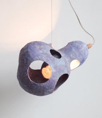 Фото №3 - You See a Sheep: коллекция керамических светильников от Юко Нисикавы