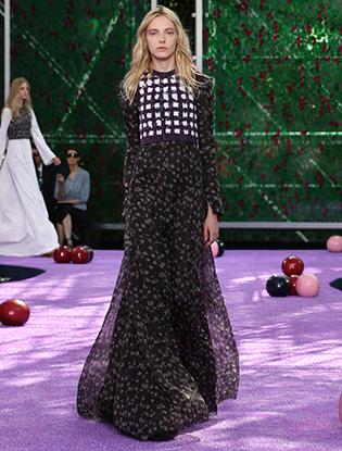 Фото №22 - Неделя Высокой моды в Париже: Dior Couture AW2015/16