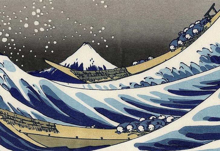 Фото №3 - Культурный код: 7 загадок самой известной волны в японском искусстве