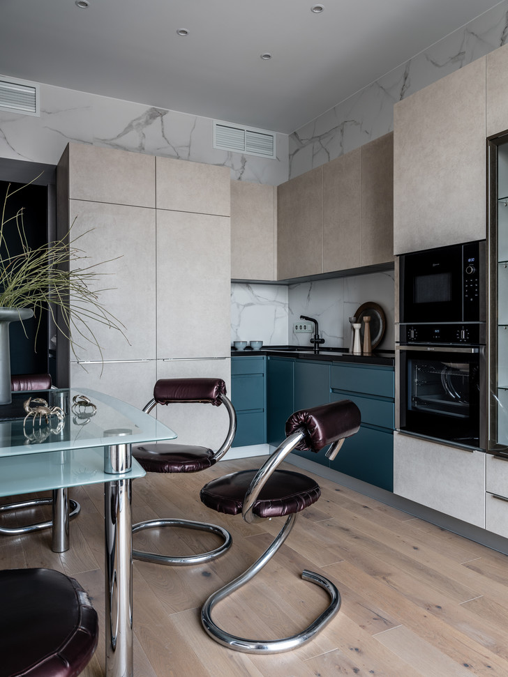 Фото №13 - Оазис тишины: все оттенки балтийского побережья в квартире 66 м²