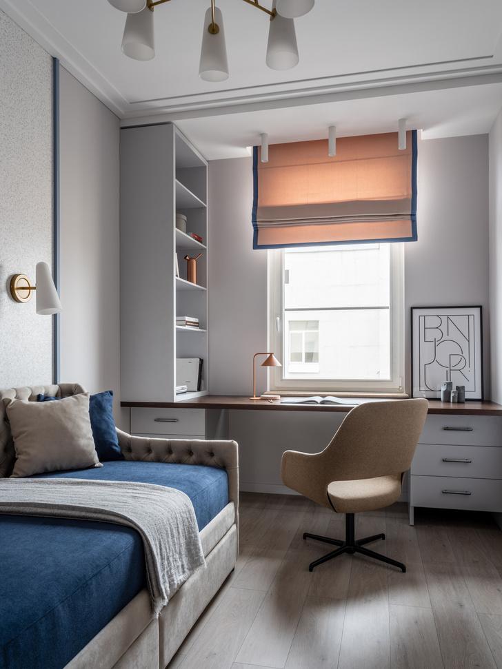Фото №12 - Квартира 100 м² в оттенках зелени, моря, песка и заката