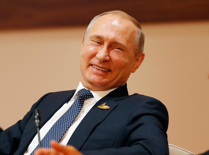 Фото №1 - Редко, но метко: 9 остроумных высказываний Владимира Путина о своей личной жизни