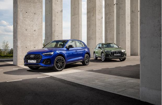 Фото №2 - Audi представили обновленные Audi Q5 и Audi SQ5