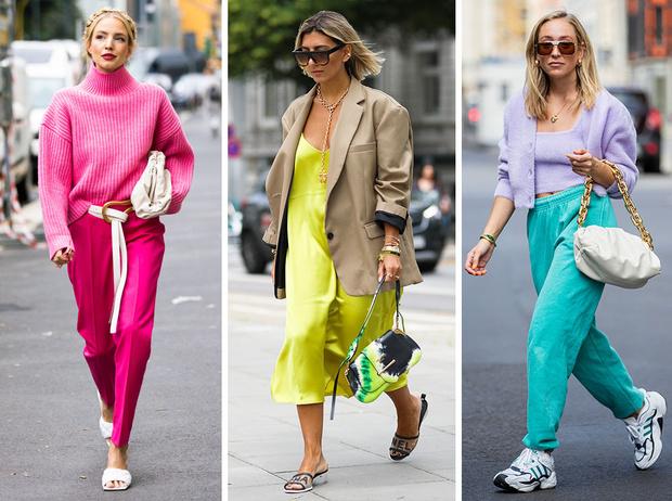 Фото №1 - Модная радуга: 10 самых смелых цветовых сочетаний, которые стоит попробовать
