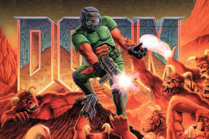 Фото №1 - На iOS, Android и Nintendo Switch вышли оригинальные Doom и Doom 2